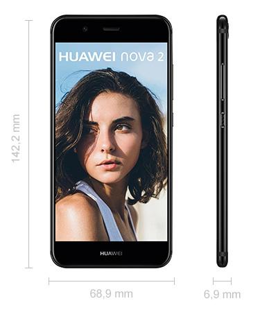 Abmessungen Huawei Nova 2 Maße