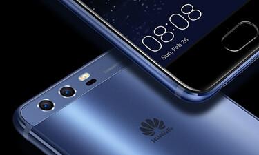 Huawei P10 in Blau