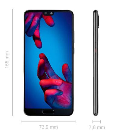 Abmessungen Huawei P20 Maße