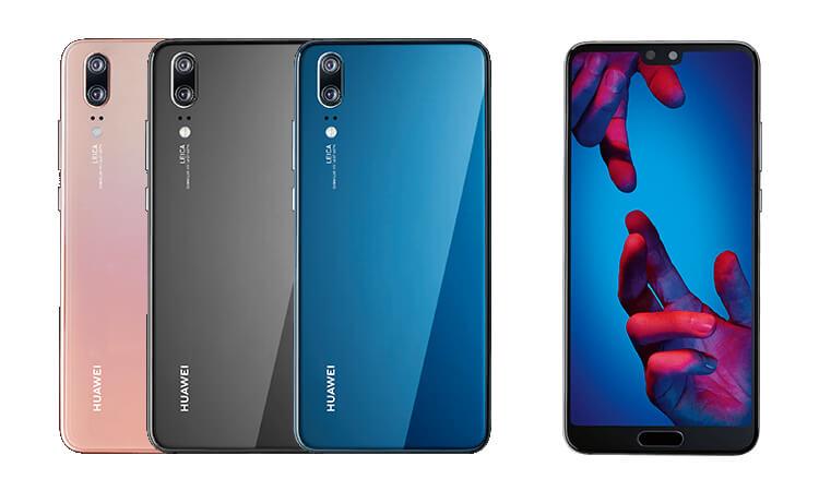 Huawei P20 Farben