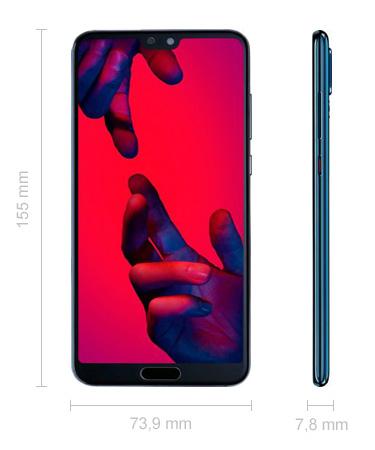 Maße Huawei P20 Pro Abmessungen