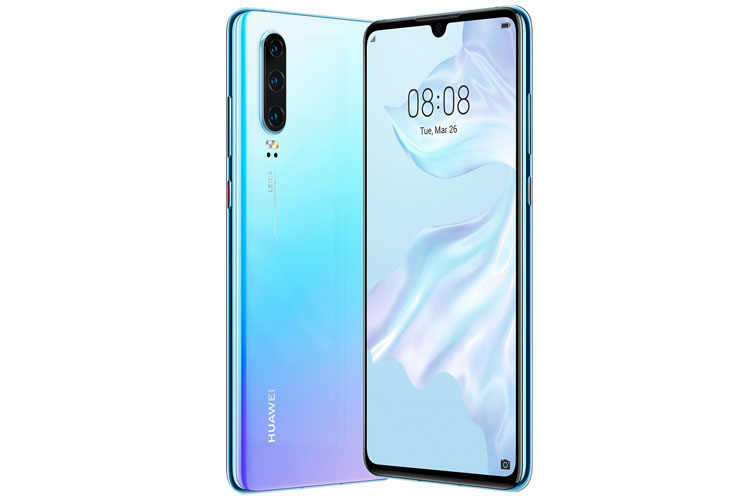 Huawei P30 in Blau