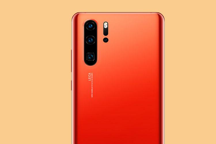 Huawei P30 Pro in Amber Sunrise