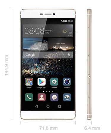 Huawei P8 Maße Abmessungen