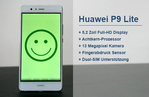 Huawei P9 Lite: Pluspunkte