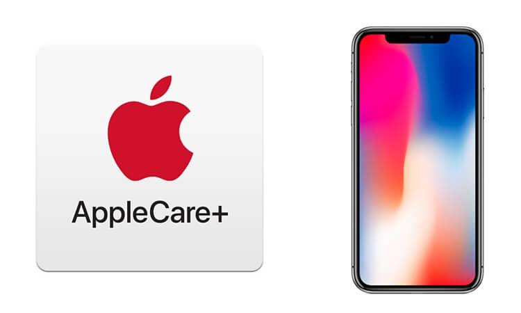Apple Care+ für das iPhone X