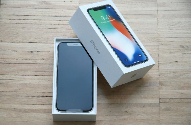 iPhone X Verpackung