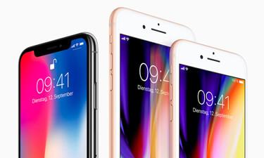iPhone 8, 8 Plus und X im Vergleich