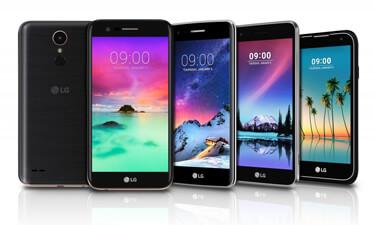 LG K Smartphones 2017