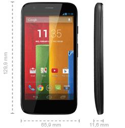 Abmessung Motorola Moto G