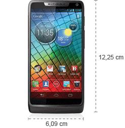 Motorola Razr i - Abmessungen