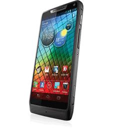 Motorola Razr i - Seitenansicht