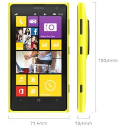 Nokia Lumia 1020 - Abmessungen