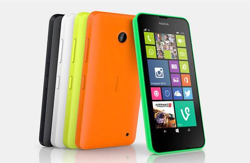 Nokia Lumia 630 Farben