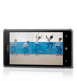 Nokia Lumia 925 Quer Weiss
