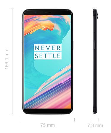 OnePlus 5T Abmessungen Maße