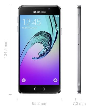 Samsung Galaxy A3 Abmessungen