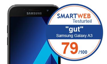 Samsung Galaxy A3 2017 Testnote