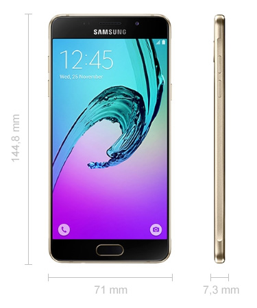 Samsung Galaxy A5 Abmessungen