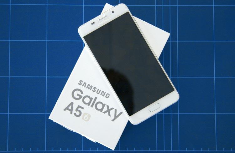 Samsung Galaxy A5 Verpackung