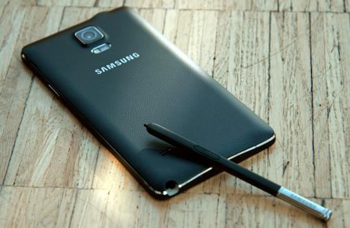 Samsung Galaxy Note 4 Ansichten