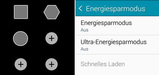Energie sparen mit dem Samsung  Galaxy Note 4
