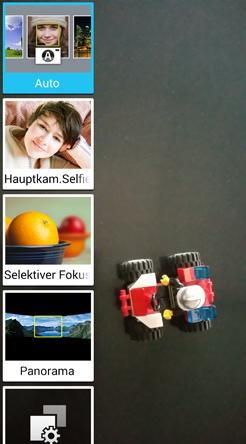 Samsung Galaxy Note 4 Kamera-Menü