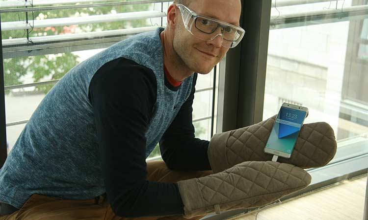 Samsung Galaxy Note 7 aufladen