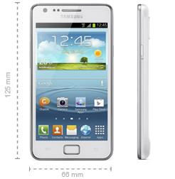 Samsung Galaxy S2 Plus Abmessungen