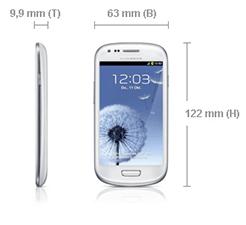 Samsung Galaxy S3 mini Abmessungen