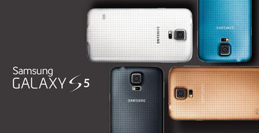 Samsung Galaxy S5 Farbvarianten