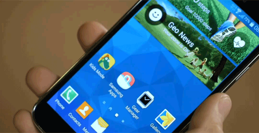 Samsung Galaxy S5 Design Touchwiz