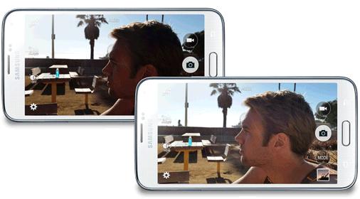 Samsung Galaxy S5 HDR Modus