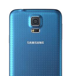 Samsung Galaxy S5 Kamera auf der Rückseite
