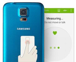 Samsung Galaxy S5 Pulsmesser
