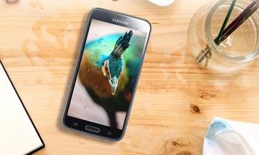 Samsung Galaxy S5 wasserfest