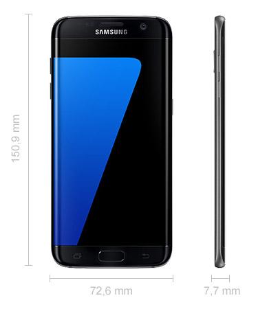 Samsung Galaxy S7 Edge Abmessungen