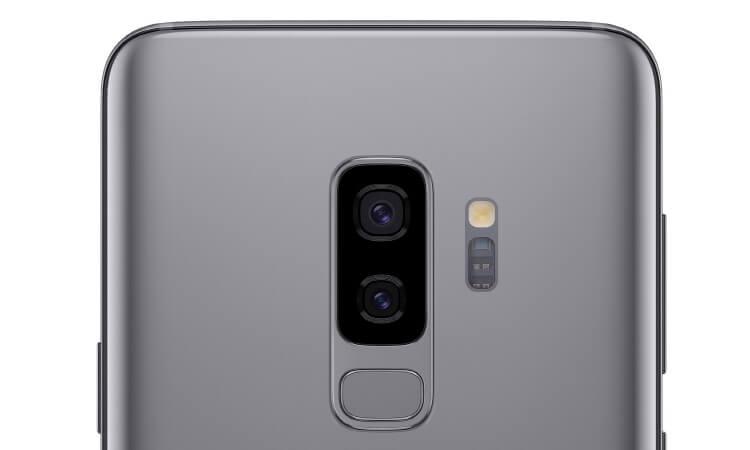 Hauptkamera des Samsung Galaxy S9 Plus