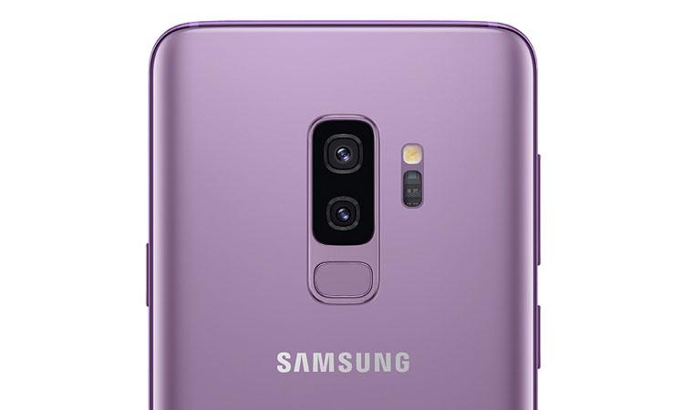 Samsung Galaxy S9 Plus Ansicht Rückseite