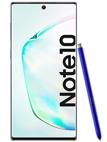 Samsung Galaxy Note 10 Vorderansicht mit S Pen