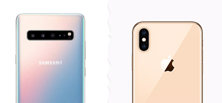Galaxy S10 und iPhone XS Kamera im Vergleich