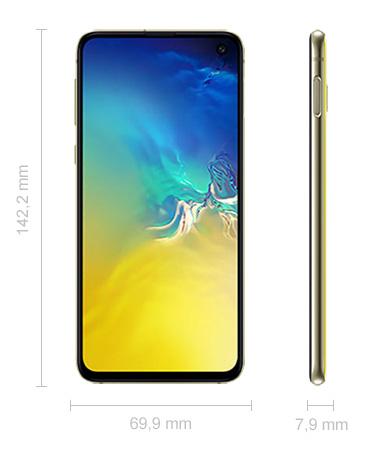 Samsung Galaxy S10e Abmessungen