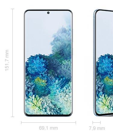 Samsung Galaxy S20 Abmessungen Maße