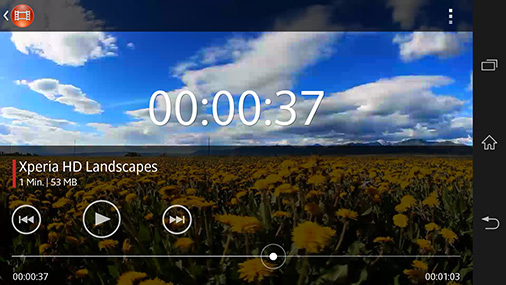 Videos abspielen auf dem Sony Xperia Z