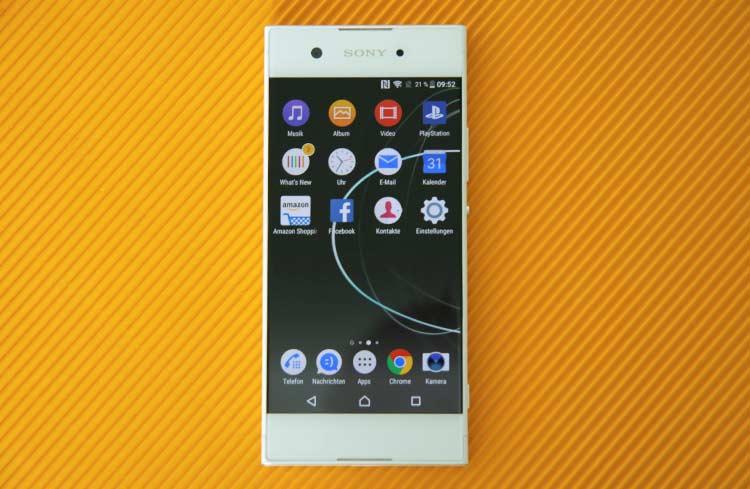 Sony Xperia XA1 Apps