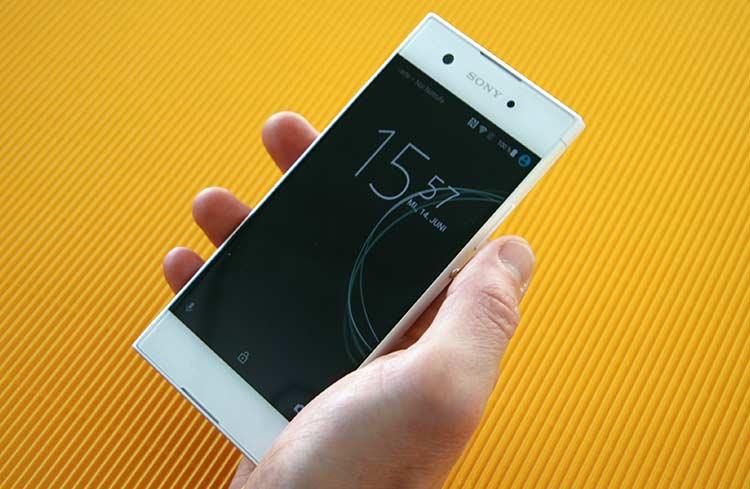 Sony Xperia XA1 Sperrbildschirm