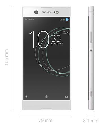 Abmessungen Sony Xperia XA1 Maße