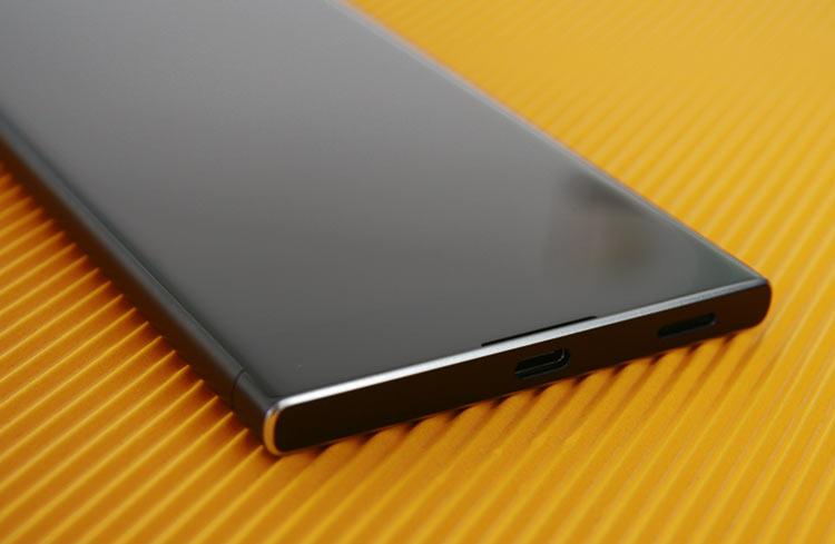Sony Xperia XA1 Mikro-USB-Anschluss