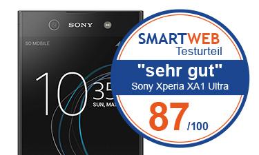 Sony Xperia XA1 Ultra Testnote