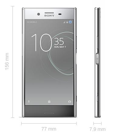 Abmessungen Sony Xperia XZ Premium Maße